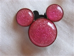 Disney Trading Pins  82638: Mickey Mouse Icon - Pink Glitter