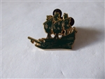 Disney Trading Pins 82664 WDW - Pirates of the Caribbean - The Legend Lives On Mini Pin Boxed Set - Flying Dutchman ONLY