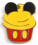 Disney Trading Pin Character Cupcake - Mini-Pin Set - Mickey Mouse