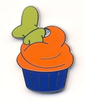 Disney Trading Pins Character Cupcake - Mini-Pin Set - Goofy