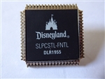 Disney Trading Pin   83349 DLR - Sci-Fi Academy - Framed Set - Circuit Board Park Map - Sleeping Beauty Castle Chip Only
