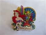 Disney Trading Pin Walt Disney Travel Company - World of Color - Ariel & Sebastian