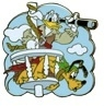 Disney Trading Pins Disney Pirates Starter Set - Donald and Pluto