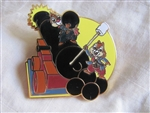Disney Trading Pin 83694: Disney Pirates Mystery Box Set - Pirate Chip and Dale Only