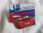 Disney Trading Pin  83770: Disney-Pixar Cars 2 Mystery Collection - Lightning McQueen London Only