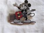 Disney Trading Pin 84041: Mickey Mouse - Rock Guitarist