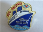 Disney Trading Pin 847: mcdonalds disney cruise line