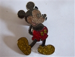 Disney Trading Pin 84835: Standing Mickey Mouse - Peace Signs