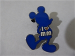 Disney Trading Pin 84838: Standing Mickey Mouse - I Heart Mickey Mouse