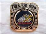 Disney Trading Pin 85391 DLR - Then and Now - Space Mountain to Flying Saucers