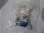 Disney Trading Pin  8549 Mickey's Very Merry Christmas 2001 (#2) - Snowflake Dangle