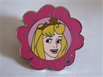 Disney Trading Pin 85546: WDW - Hidden Mickey 2011 Aurora Flower