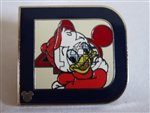 Disney Trading Pin 2011 Hidden Mickey Series - Classic 'D' Collection - Huey