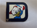 Disney Trading Pin 2011 Hidden Mickey Series - Classic 'D' Collection - Dewey