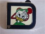 Disney Trading Pin 2011 Hidden Mickey Series - Classic 'D' Collection - Louie