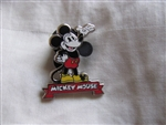 Disney Trading Pin 85626: DLR - 2011 Hidden Mickey Series - Mickey Mouse Around the World - Mickey Mouse (English)