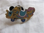 Disney Trading Pin  85632: DLR - 2011 Hidden Mickey Series - Casey Jr. Train Collection - Light Blue and Pink Car