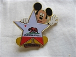 Disney Trading Pins 8628: 100 Years of Dreams #100 California Republic