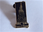 Disney Trading Pins 864: EuroDisney Gold and Black Castle Pin