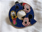 Disney Trading Pin 86623: Alphabet Collection 2011 - 'Q'