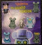 Disney Trading Pin Vinylmation(TM) Collectors Set - Haunted Mansion