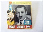 Disney Trading Pin 87245 Walt Disney Day - 2011