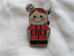 Disney Trading Pin 87299: Vinylmation Jr #4 Mystery Pin Pack - 'it's a small world' - British Boy Only