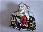 Disney Trading Pin 87545 Santa Jack & Zero Pin - 2011 DSF Nightmare Before Christmas Pin Trading Event