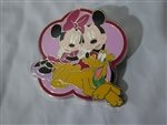 Disney Trading Pin My First Starter Set - Mickey, Minnie, and Pluto