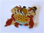 Disney Trading Pins  87676 DSF - Thanksgiving 2011 - Chip and Dale