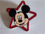 Disney Trading Pins 2012 Stars - Mini-Pin Collection - Mickey Mouse