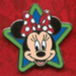 Disney Trading Pins 2012 Stars - Mini-Pin Collection - Minnie Mouse