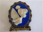 Disney Trading Pin  88143 Tinker Bell Birthstone Cameo Collection 2012 - September