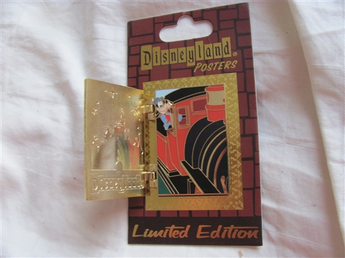 df6a70c3bd1c Disney Trading Pin 88177  DLR - Attraction Posters - Disneyland® Railroad