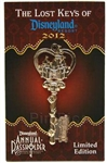 Disney Trading Pins 88239: DLR - Annual Passholder - Unlock the Magic of Disneyland® Resort - Sleeping Beauty Castle Key