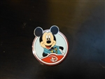 Disney Trading Pin 88455: WDW - Mystery Collection - Circle Icon 'D' - Mickey Mouse Only