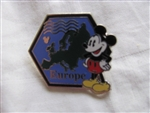 Disney Trading Pin 88677: WDW - 2012 Hidden Mickey Series - Continent Stamps Collection - Europe