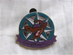 Disney Trading Pin 88678: WDW - 2012 Hidden Mickey Series - Compass Collection - Lagoona Gator