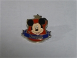Disney Trading Pin 88756 DLR - 2012 Hidden Mickey Series - Crest Collection - Mickey Mouse