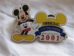 Disney Trading Pin 8919: WDW Official Pin Trading Anniversary 2001
