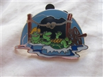 Disney Trading Pin 89218 WDW - Splash Mountain - Reveal/Conceal Mystery Collection - Turtle and Bullfrog ONLY