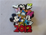 Disney Trading Pin 89259 Jerry Leigh - 2012 Mickey Group Photo