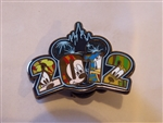 Disney Trading Pin 89263 Jerry Leigh - 2012 Mickey Head/Ears & Castle with Fab 4