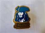 Disney Trading Pin  89276 Jerry Leigh - Capt. Jack Sparrow - Pirates of the Caribbean on Stranger Tides Series