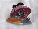 Disney Trading Pins 89361: Cool Characters - 4 Pin Starter Set - Daisy & Minnie Sunbathing Only