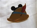 Disney Trading Pin 89373: Character Hats - Collectible Pin Pack - Pinocchio