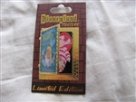 Disney Trading Pin 89538: DLR - Attraction Posters - Alice In Wonderland Mad Tea Party