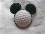 Disney Trading Pin 89604: Mickey Mouse Icon - Golf Ball