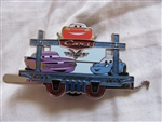 Disney Trading Pin 89796: DLR - Disneyland® Resort Train Mystery Collection - Carsland- Pixar's Cars