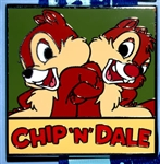 Disney Trading Pins PWP Promotion - Deluxe Starter Set Chip and Dale